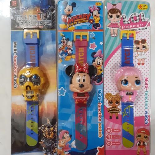 Foto Produk Jam Tangan Anak Motif Karakter Avangers , LOL dari dicjono