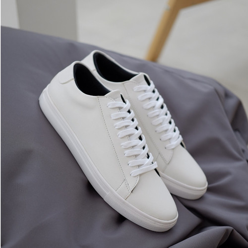 Foto Produk PHOENIX SERIES - Sepatu Putih Sneakers Casual Pria Cowok Oxwalker Ori - Putih, 40 dari sepatulokalid