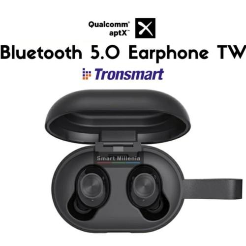 Foto Produk Tronsmart Qualcomm® AptX Truly Wireless TWS Blue dari MelodiaNajwa