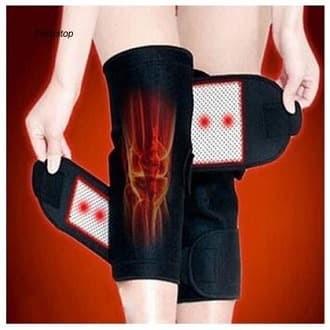 Foto Produk Deker Terapih Lutut-Sabuk Pemanas Sendi Lutut-Deker Magnet isi 2pcs dari Tsawab Store