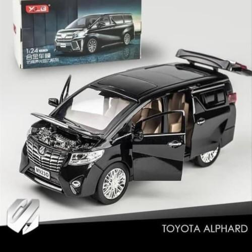 Foto Produk Diecast mobil Toyota Alphard Vellfire 1/24 metal besi mainan anak dari jirolu_toys
