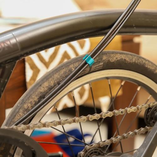 Foto Produk Cable clip kabel ties sepeda brompton pikes trifold dari DawaGarage