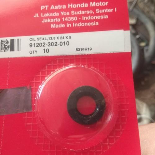 Foto Produk sil seal selah kick stater 13,8x24x5 grand supra original dari dokter motor
