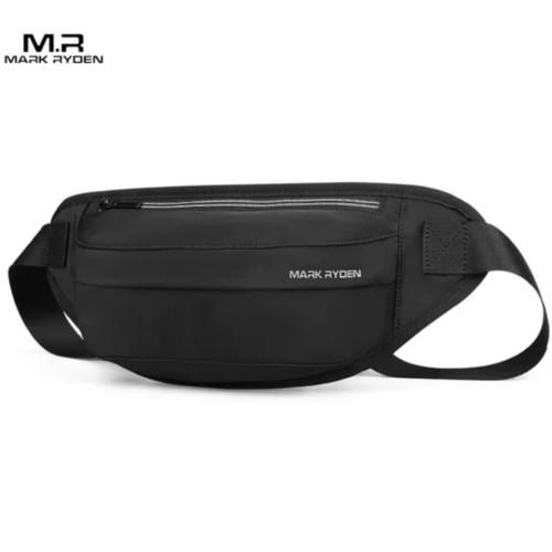 Foto Produk WAIST BAG PRIA TAS PINGGANG SLINGBAG MARK RYDEN MR8789 100% ORIGINAL - Hitam dari DBR Premium