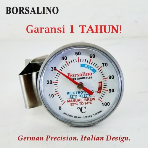 Foto Produk Termometer Kopi Manual Borsalino Mini Analog Coffee Thermometer dari Kopi Jayakarta