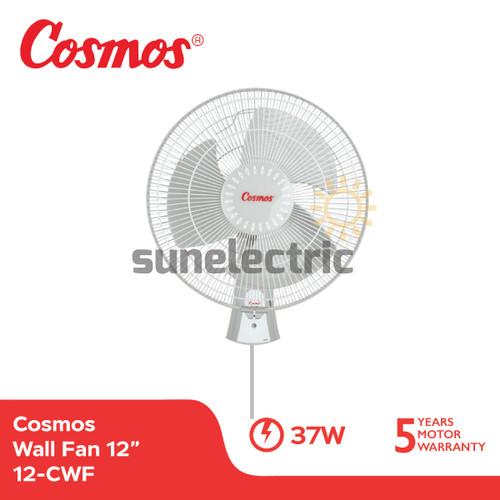Foto Produk Cosmos 12-CWF Kipas Angin Dinding / Wall Fan 12 Inch / 30 cm dari SUN ELECTRIC