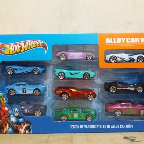 Foto Produk DIECAST HOTWHEEL ALLOY CAR/Mobil besi dari mainan anakmurah