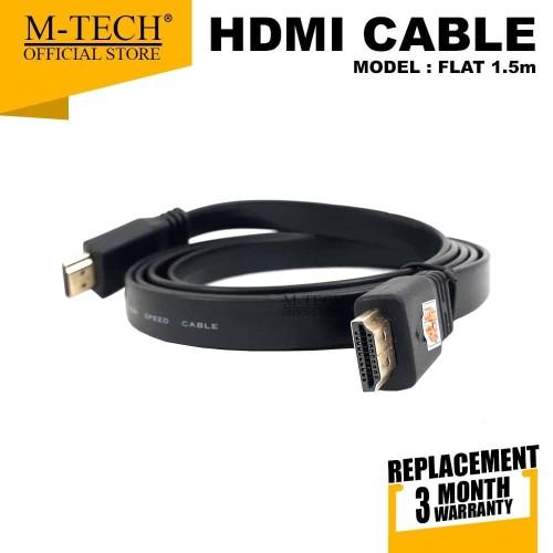 Foto Produk Kabel HDMI to HDMI High Speed Full HD 1080P Original M-Tech dari M-Tech Official Store
