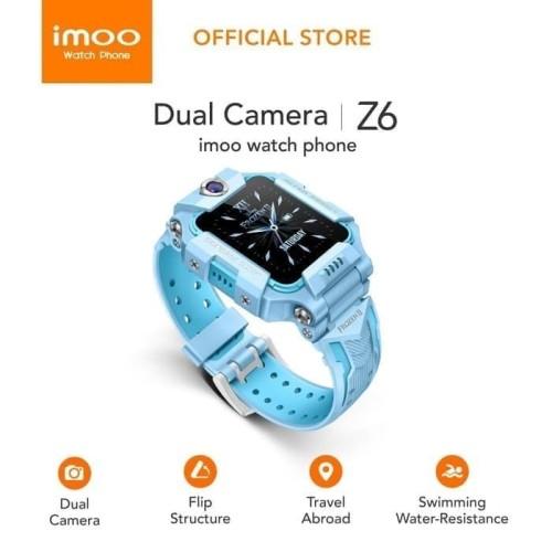 Foto Produk Watch Phone imoo Z6 HD Video Call - Frozen II Series Garansi Resmi - Ungu dari Evogad Official