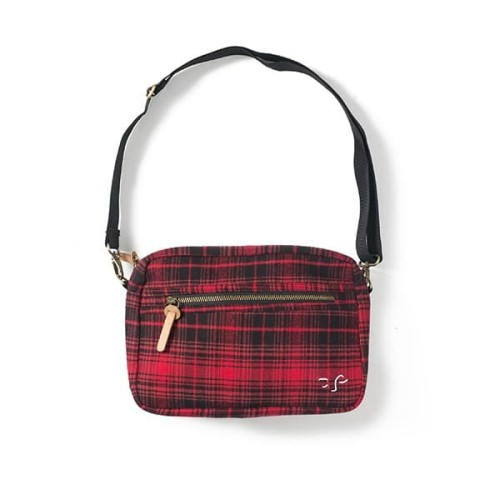 Foto Produk FILOSOFI KOPI SLING BAG - FLANNEL SLING BAG - RED BLACK dari FILOSOFI KOPI APPAREL