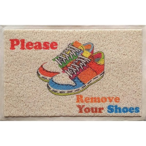 Foto Produk Keset Please Remove Your Shoes C19 dari Houseof Carpet