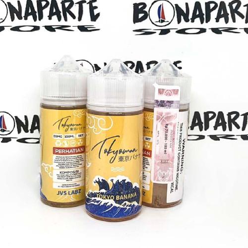Foto Produk Tokyoman 100ml 3mg dari Bonaparte Store