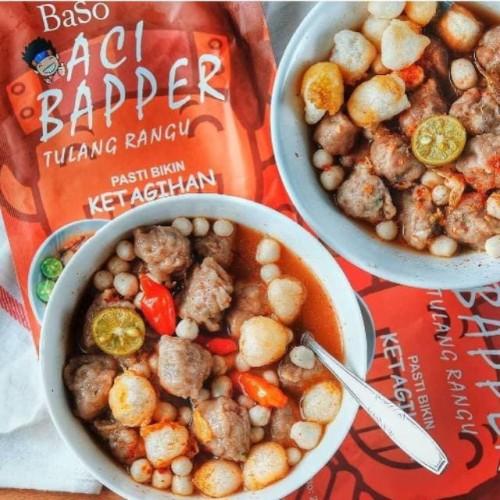 Foto Produk Baso Aci Bapper Tulang Rangu - Sambel Mercon dari Foodist