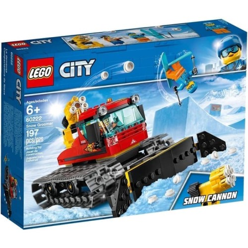 Foto Produk Lego City 60222 Snow Groomer dari Brickz Project