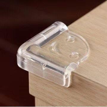 Foto Produk Pelindung Siku Meja Pengaman Sudut Meja SMILE Silikon Transparan dari Y42N.ACC