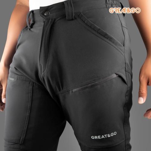 Foto Produk Celana Great&Go eazy fit celana gunung panjang quickdry Stretch pants dari GROSIR SUNREST OUTDOOR