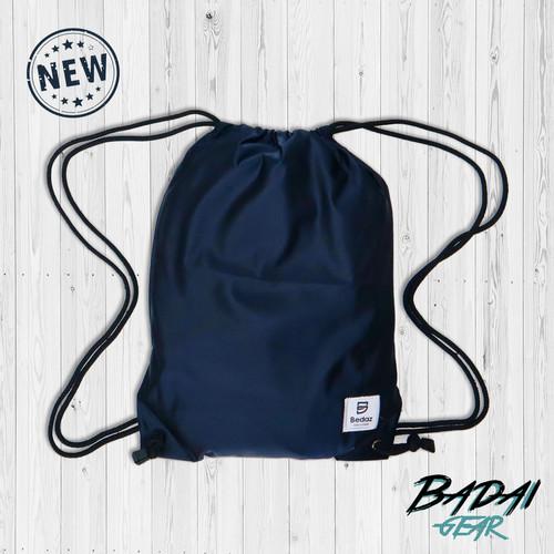 Foto Produk Tas Serut Pria-Wanita - DRAWSTRING Waterproof - STRING BAG - Bedaz - Biru dari Badai Gear Outdoor