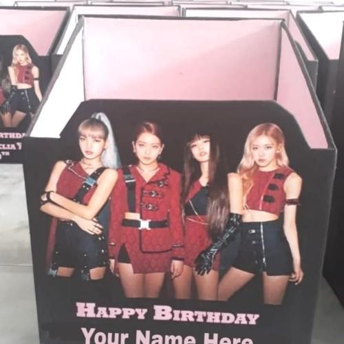 Foto Produk storage merchandise black pink / birthday hampers / Manyue / souvenir dari Kemanggisan Store