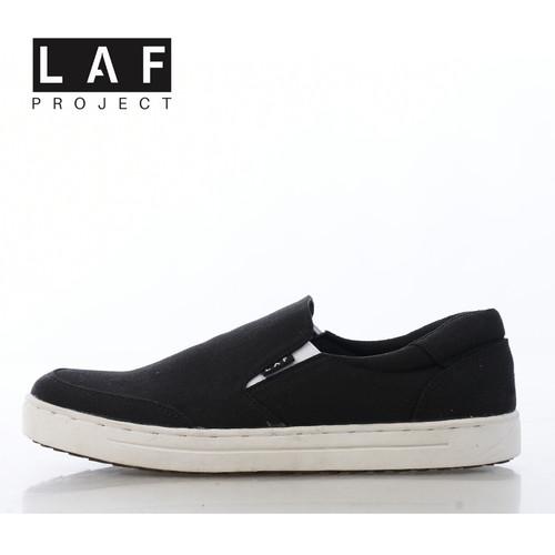 Foto Produk Sepatu Slip On Pria Wanita Bukan Vans LAF Project - Putih, 41 dari LAF Project