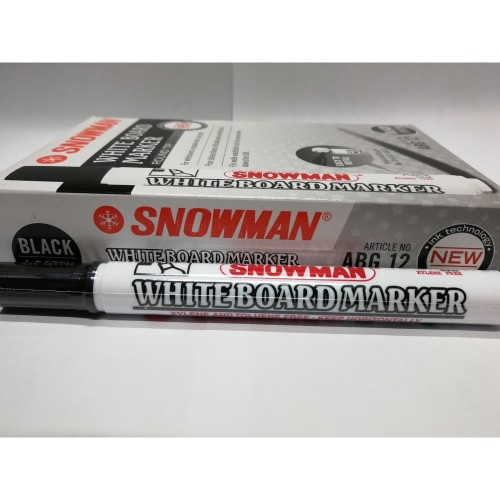 Foto Produk SPIDOL WHITEBOARD SNOWMAN ABG12 dari BROTHER STATIONERY