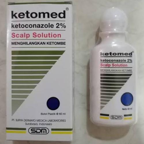 Foto Produk Ketomed Scalp Solution 60 mL dari alleee store