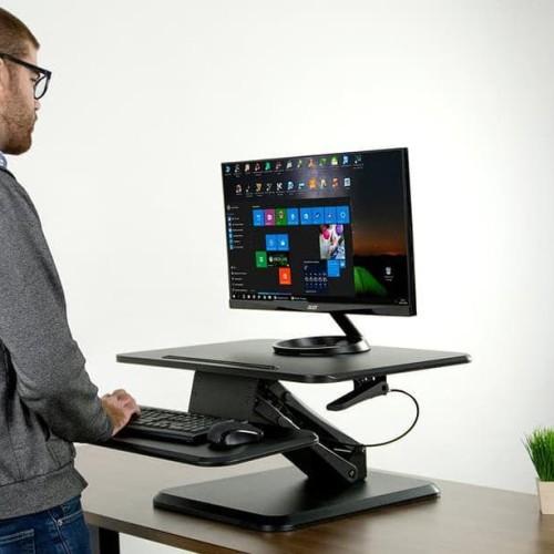 Foto Produk SitStand.ID Compact Series C1 Standing Desk Converter Sit Stand 64cm dari atlanticshop2