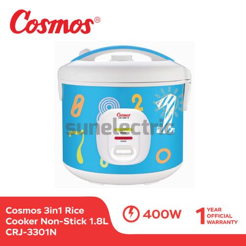 Foto Produk Cosmos CRJ-3301 N Rice Cooker 3in1 Magic Com (1.8 Liter) dari SUN ELECTRIC