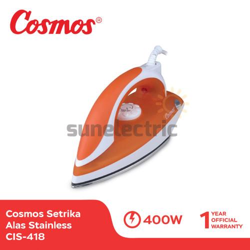 Foto Produk Cosmos CIS-418 Setrika / Gosokan Alas Stainless Steel 400 Watt dari SUN ELECTRIC