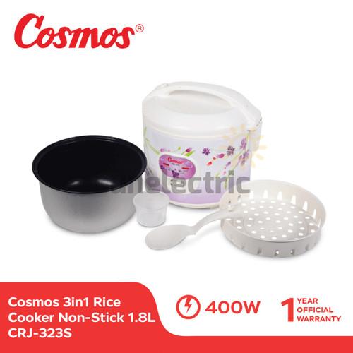 Foto Produk Cosmos CRJ-323 S Rice Cooker 3in1 Magic Com (1.8 Liter) dari SUN ELECTRIC
