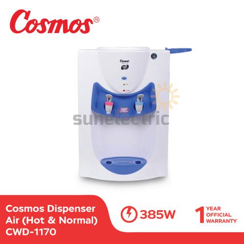 Foto Produk Cosmos CWD-1170 Dispenser Air 2 Kran (Hot & Normal) dari SUN ELECTRIC