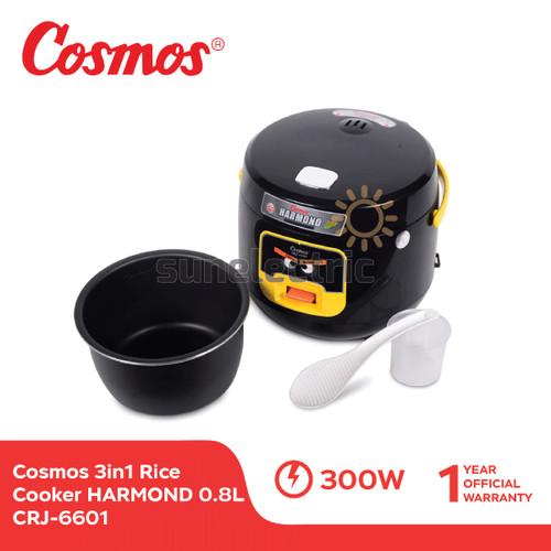 Foto Produk Cosmos CRJ-6601 Rice Cooker 3in1 Magic Com HARMOND (0.8 Liter) dari SUN ELECTRIC
