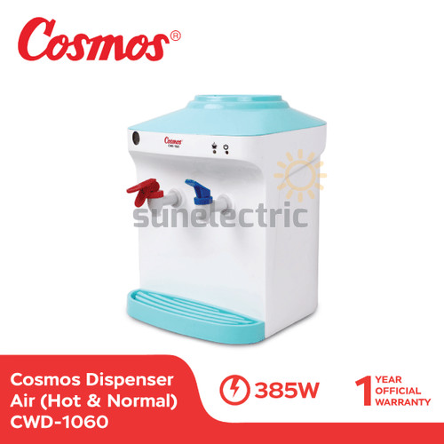 Foto Produk Cosmos CWD-1060 Dispenser Air 2 Kran (Hot & Normal) dari SUN ELECTRIC
