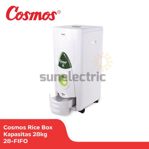 Foto Produk Cosmos 28-FIFO Rice Box 28kg Tempat Penyimpanan Beras Anti Kutu/ Tikus dari SUN ELECTRIC