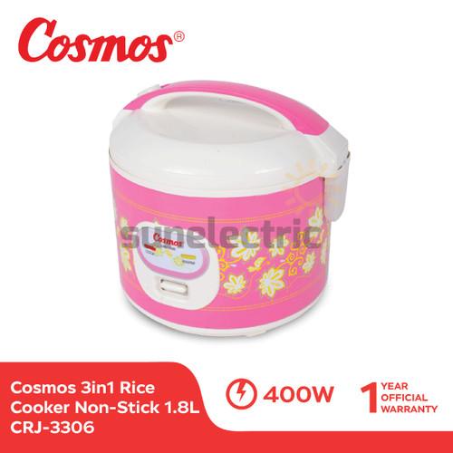 Foto Produk Cosmos CRJ-3306 Rice Cooker 3in1 Magic Com (1.8 Liter) dari SUN ELECTRIC