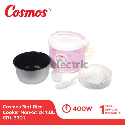 Foto Produk Cosmos CRJ-3301 Rice Cooker 3in1 Magic Com (1.8 Liter) dari SUN ELECTRIC