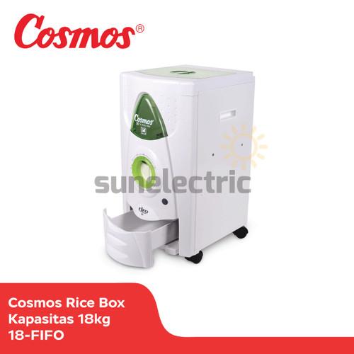 Foto Produk Cosmos 18-FIFO Rice Box 18kg Tempat Penyimpanan Beras Anti Kutu/ Tikus dari SUN ELECTRIC