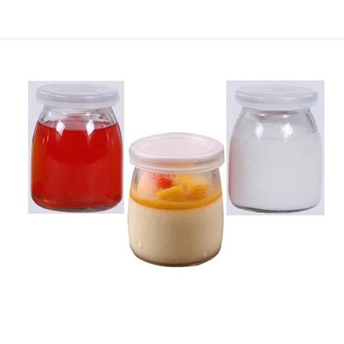 Foto Produk Botol Jar Toples Kaca 200ml (ukuran PENDEK) : Puding / Kue / Selai dari Beautiful Rainbow Shop
