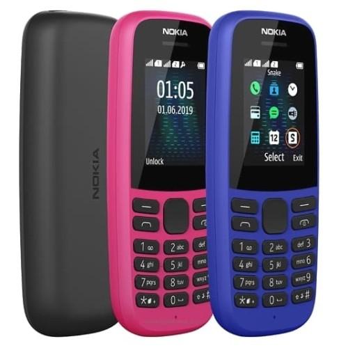 Foto Produk Nokia 105 (2019) Garansi Resmi TAM - Hitam dari OVANST0RE