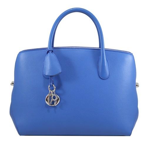 Foto Produk Dior Bar Grain Calf in Blue I6909 dari SECOND CHANCE