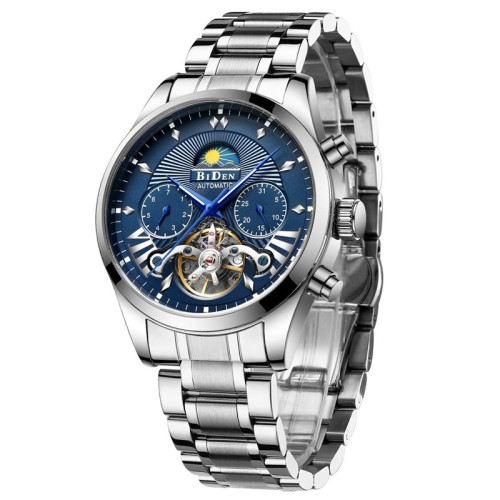Foto Produk Biden Watch 0189 Steel Automatic Jam Tangan Original Matic dari kademan official