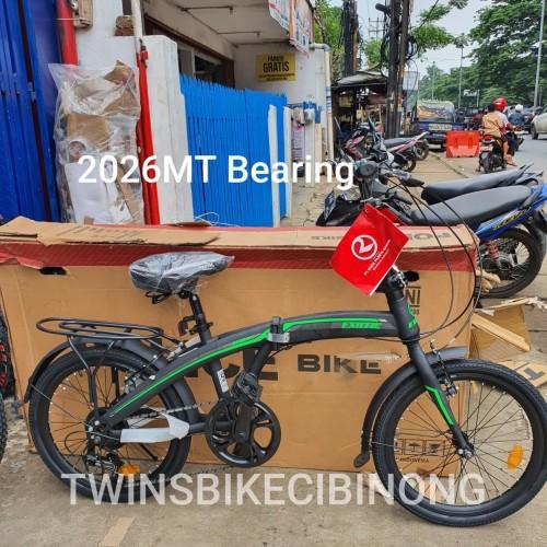 Foto Produk Sepeda Lipat exotic 2026MX bearing dari TwinsBikeCibinong