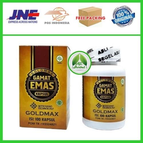 Foto Produk GOLDMAX Gamat Emas Kapsul 100% ASLI (Garansi Uang Kembali) dari Aji Herbal 01