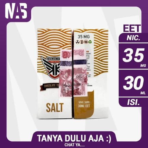 Foto Produk Salt Nic Double K Chocolate Tobacco 35 mg 30 ml Liquid Pod dari NAS VIRTUAL