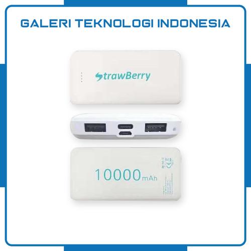 Foto Produk Strawberry Power Bank SP-01 Real Capacity Fast Charging Slim Powerbank dari Galtekindo