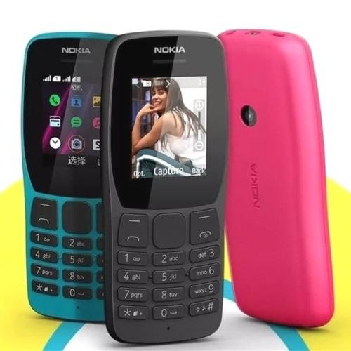 Foto Produk Nokia 110 (2019) Garansi Resmi TAM - Hitam dari OVANST0RE