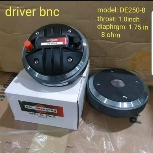 Foto Produk Driver / Tweeter B&C / BNC DE250-8 / DE 250 / DE 250-8 GRADE A++ dari First Audio Pro