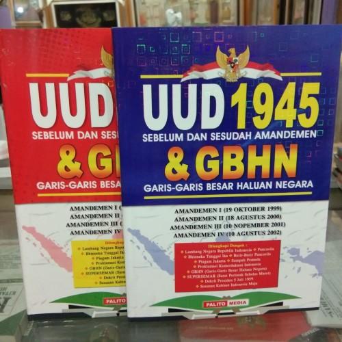 Foto Produk Buku UUD 1945 & GBHN terbaru dari SAMUDRA ILMU