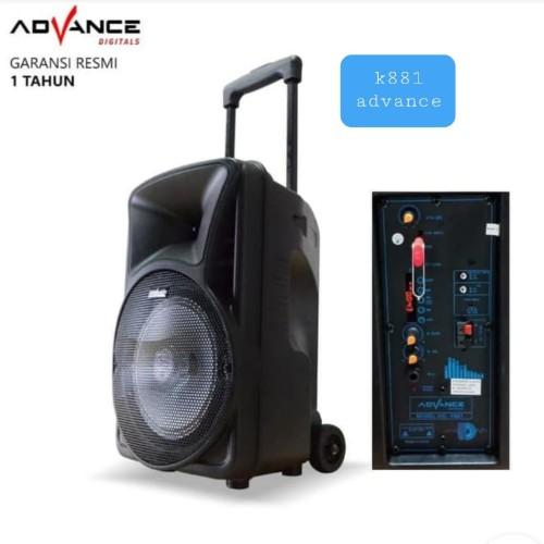 Foto Produk speaker bluetooth k881 ADVANCE dari Speaker Grosir