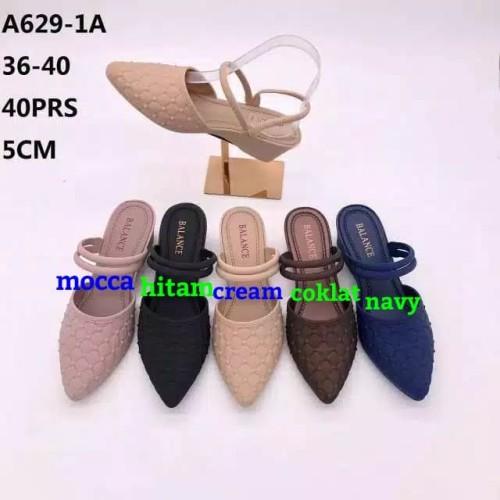 Foto Produk Jelly Shoes Sepatu Wanita Rhombus - Wedges Sepatu karet flatshoes cewe dari Gracia OS