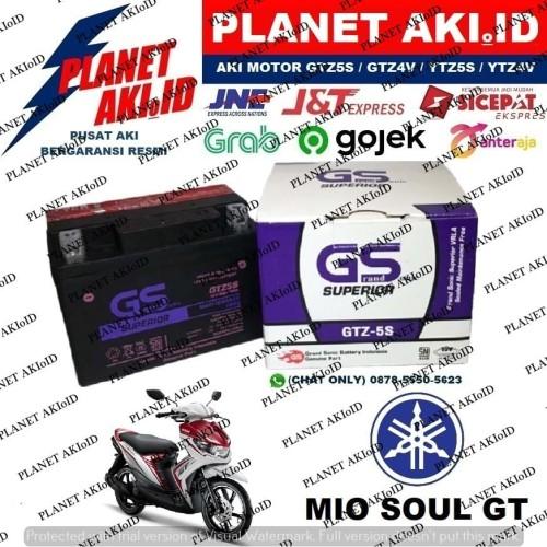 Foto Produk Aki Motor Yamaha Mio Soul GT GTZ5S GS Y Accu Kering MF dari Planet Aki